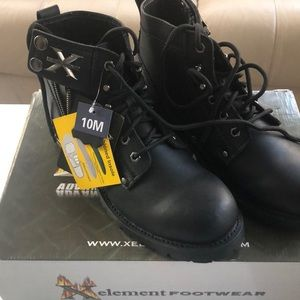Brand new X-element motorcycle boots